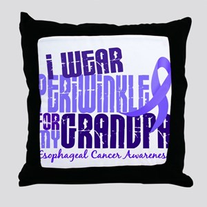 I Wear Periwinkle 6.4 Esophageal Cancer Throw Pill