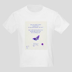 Love Design on Kids Light T-shirt