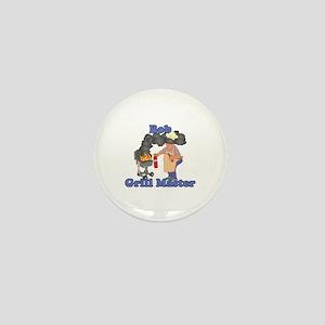 Grill Master Bob Mini Button