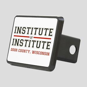 Door County, Institute, WI Rectangular Hitch Cover