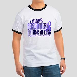 I Wear Periwinkle 6.4 Esophageal Cancer Ringer T