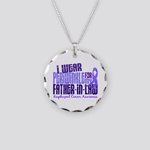 I Wear Periwinkle 6.4 Esophageal Cancer Necklace C