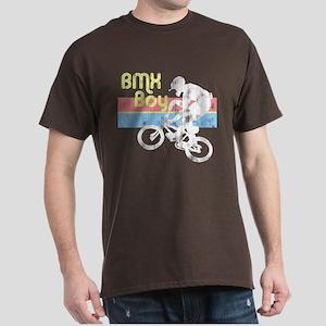 1980s BMX Boy Distressed Dark T-Shirt