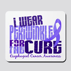 I Wear Periwinkle 6.4 Esophageal Cancer Mousepad