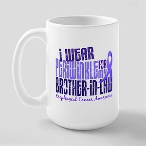 I Wear Periwinkle 6.4 Esophageal Cancer Large Mug
