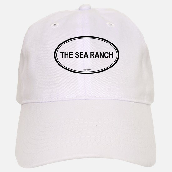 The Sea Ranch oval Baseball Baseball Cap