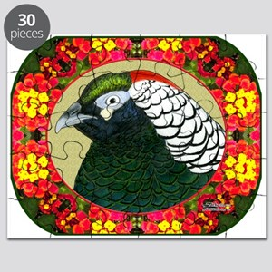 Amherst Pheasant and Flowers Puzzle