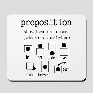 PREPOSITION Mousepad