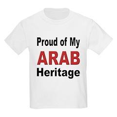 Proud Arab Heritage Kids T-Shirt