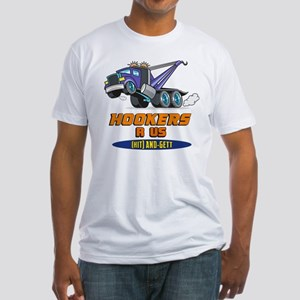 Hookers R Us 2 Fitted T-Shirt