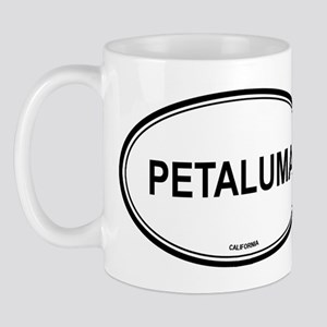 Petaluma oval Mug