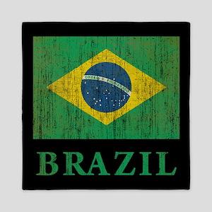 Vintage Brazil Queen Duvet