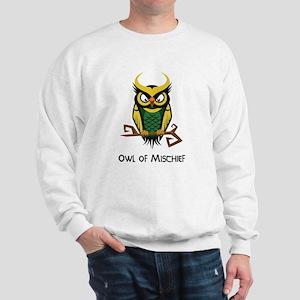 Owl of Mischief Sweatshirt