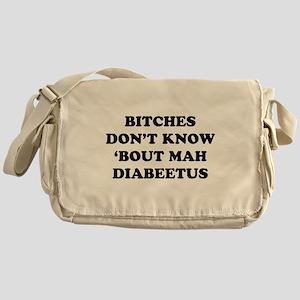 Diabeetus Messenger Bag