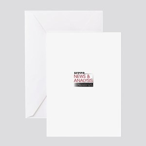 news and analysis Greeting Card