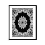 Luna Lace Calliope Framed Panel Print