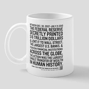 Fed Bailout Mug
