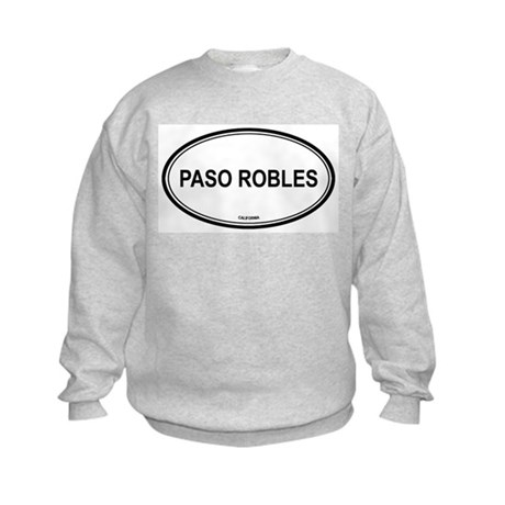 Paso Robles oval Kids Sweatshirt