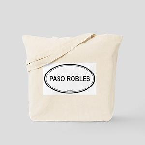 Paso Robles oval Tote Bag