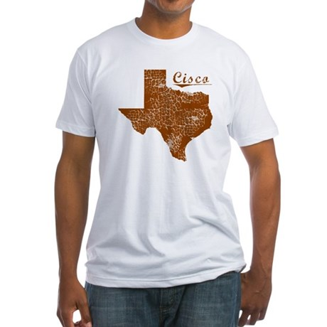 Cisco, Texas (Search Any City!) Fitted T-Shirt