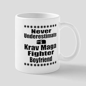 Never Underestimate Krav Maga Fi 11 oz Ceramic Mug