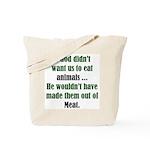The Anti-Vegetarian Tote Bag