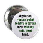 """The Anti-Vegetarian 2.25"""" Button (10 pack)"""