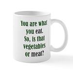 The Anti-Vegetarian Mug