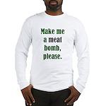 The Anti-Vegetarian Long Sleeve T-Shirt