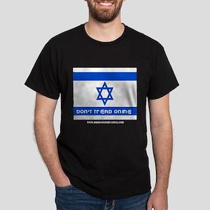 Don't Tread on me Israel Black T-Shirt