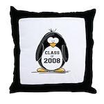 Class of 2008 Penguin Throw Pillow