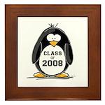 Class of 2008 Penguin Framed Tile