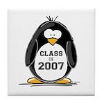 Class of 2007 Penguin Tile Coaster