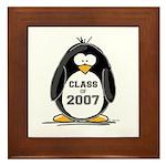 Class of 2007 Penguin Framed Tile