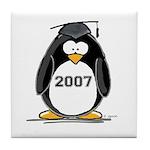 2007 Graduate Penguin Tile Coaster