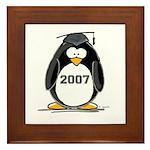 2007 Graduate Penguin Framed Tile