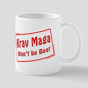 Krav Maga Wont be Beat Mug