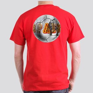 Spanish Soccer Ball Dark T-Shirt