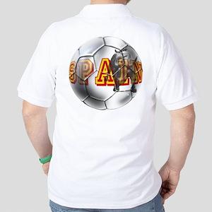 Spanish Soccer Ball Golf Shirt