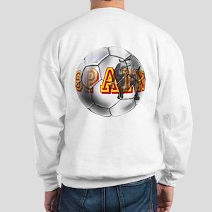 Spanish Soccer Ball Sweatshirt