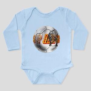 Spanish Soccer Ball Long Sleeve Infant Bodysuit