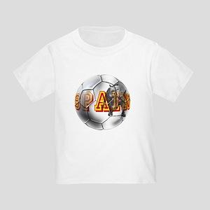 Spanish Soccer Ball Toddler T-Shirt
