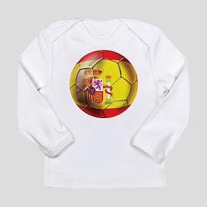 Spanish Futbol Long Sleeve Infant T-Shirt