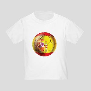 Spanish Futbol Toddler T-Shirt