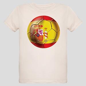 Spanish Futbol Organic Kids T-Shirt