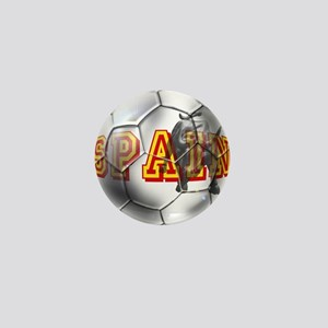 Spanish Soccer Ball Mini Button