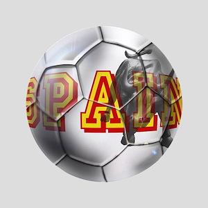 "Spanish Soccer Ball 3.5"" Button"