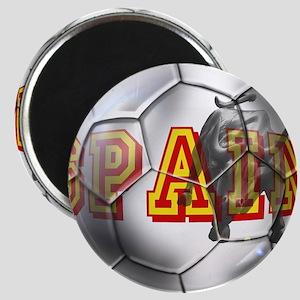 Spanish Soccer Ball Magnet