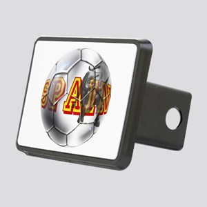 Spanish Soccer Ball Rectangular Hitch Cover