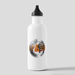 Spanish Soccer Ball Stainless Water Bottle 1.0L